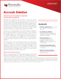 Great Plains Accruals Application Guide