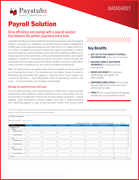 Paystubz Payroll Solution Cover