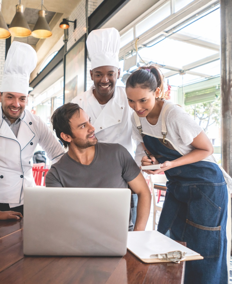 restaurant team can access all employee data from one location