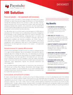 Paystubz - HR Solution-CoverBorder